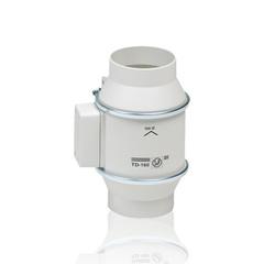 Вентилятор канальный S&P TD 160/100 NT Silent (таймер)