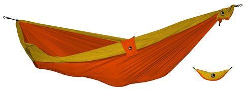 Картинка гамак туристический Ticket to the Moon Compact Hammock Orange - Dark Yellow