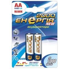 Аккумуляторы Энергия R6, AA 2000mAh