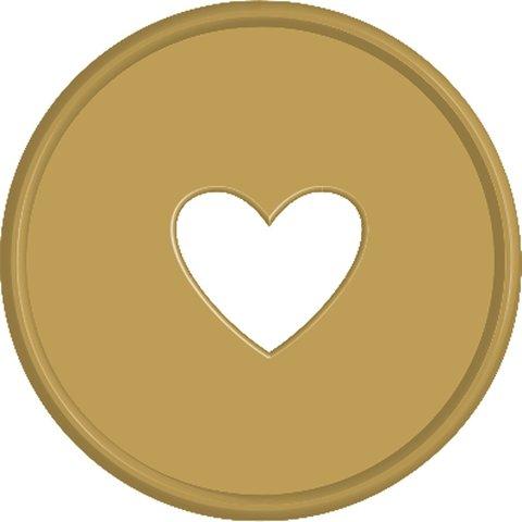 Диски- крепежный механизм для ежедневника Create 365 Planner Expander Rings - Gold  - 4.3 см