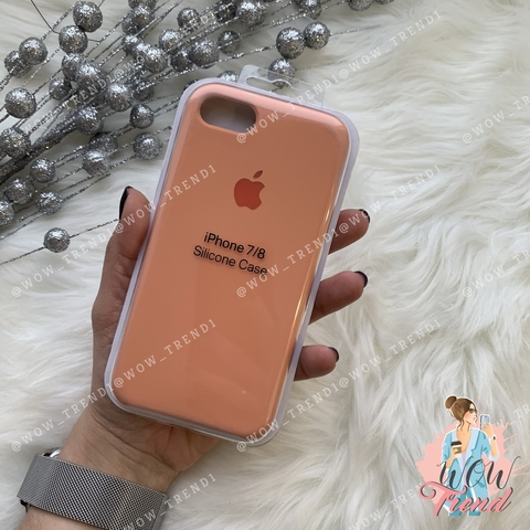 Чехол iPhone 7/8 Silicone Case /flamingo/ фламинго original quality