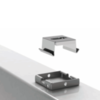 Потолочный кронштейн крепления светильника аварийного освещения производственных помещений Acciaio Emergency LED