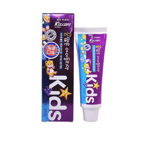 Детская зубная паста гелевая лечебная со вкусом Винограда с 2 лет Mukunghwa Kizcare Doctor 80 гр