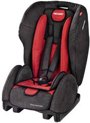 Детское кресло RECARO Young Expert plus (материал верха Trendline Bellini Cherry/Black)
