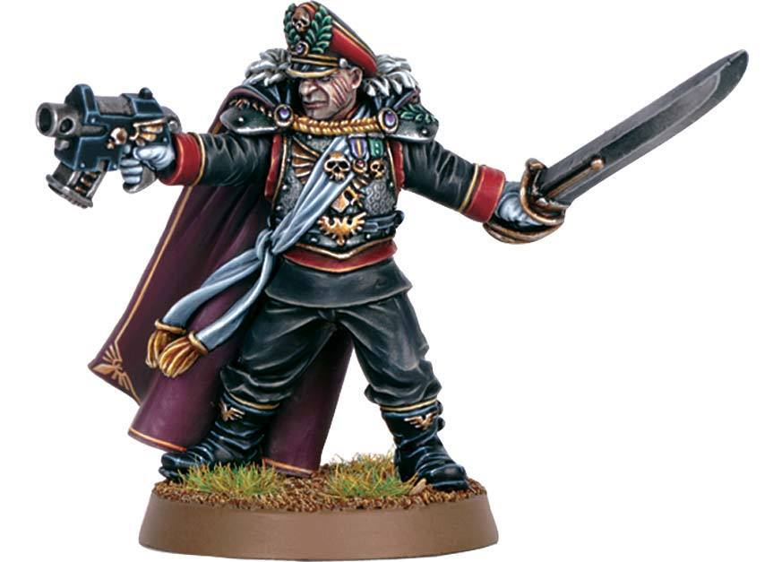 Imperial Guard Lord Commissar