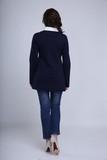 Блузка для беременных 01052 синий