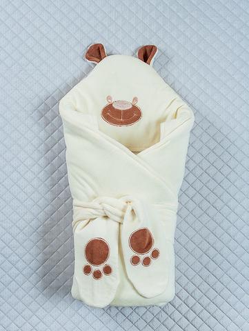 Зимний конверт-одеяло Little Bear молочный