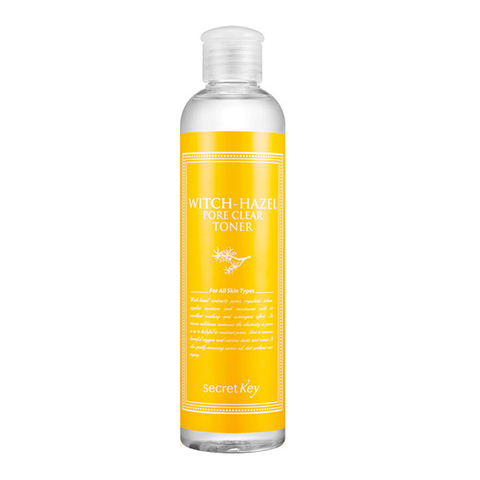 Мягкий тоник для лица с экстрактом гамамелиса Secret Key Witch-Hazel Pore Clear Toner