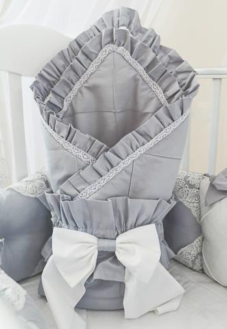 Комплект в кроватку Gray, на 4 стороны кроватки