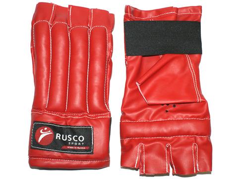 Шингарды RuscoSport, красные, размер L