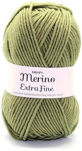 Пряжа Drops Merino Extra Fine 18 фисташка