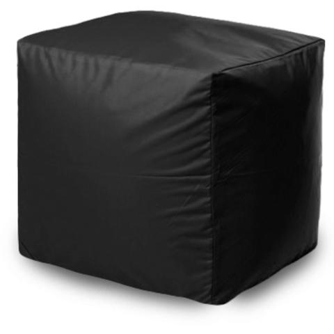 Квадратный пуфик Черный