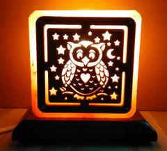 Солевая лампа Сова 1,4-1,5кг
