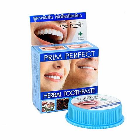 Тайская зубная паста Prim Perfect