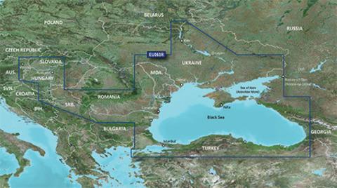 Карта Garmin VEU063R - Черное и Азовское море, g2 Vision