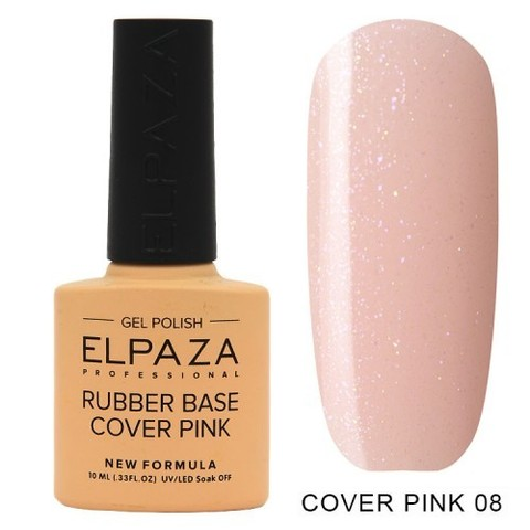 Elpaza Rubber Base Cover Pink, 08
