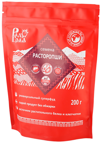 Семена Расторопши, 200 гр. (Радоград)