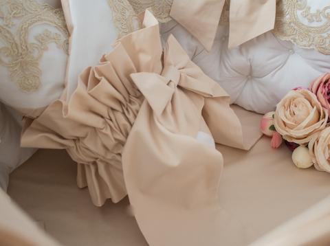 Бант на одеяло- конверт Gold