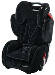 Детское кресло RECARO Young Sport (материал верха Topline Microfibre Black/Aquavit)
