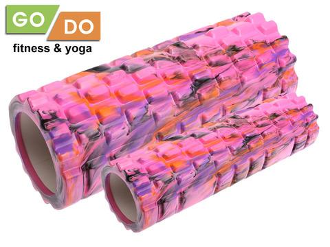 Валик-матрёшка для йоги полый жёсткий: YJ-5008