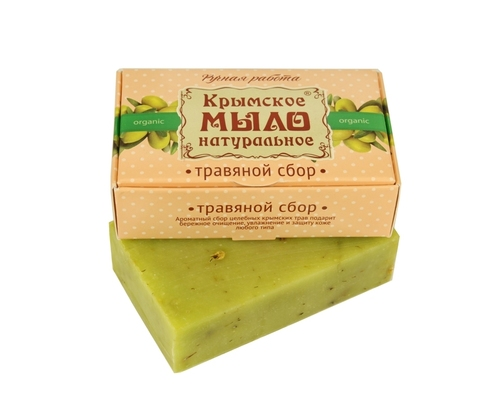 МДП Крымское натуральное мыло на оливковом масле ТРАВЯНОЙ СБОР, 100г