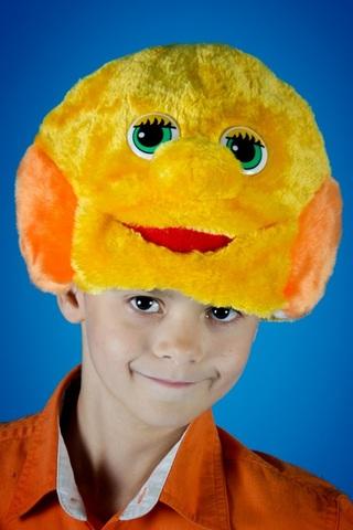 Карнавальная шапочка Колобка