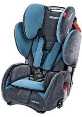 Детское кресло RECARO Young Sport (материал верха Topline Microfibre Grey/Petrol)