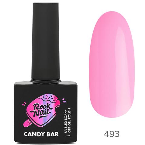 Гель-лак RockNail Candy Вar 493 Souffle At The Spa (Суфле в спа)