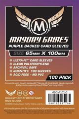 Протекторы Mayday: Purple Backed Magnum Copper Sleeve 65X100 (100)