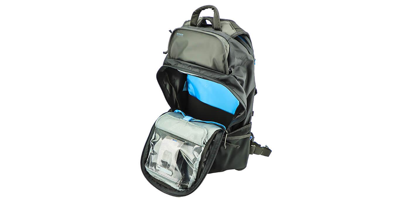 Рюкзак GoPro Seeker (AWOPB-002) открыт