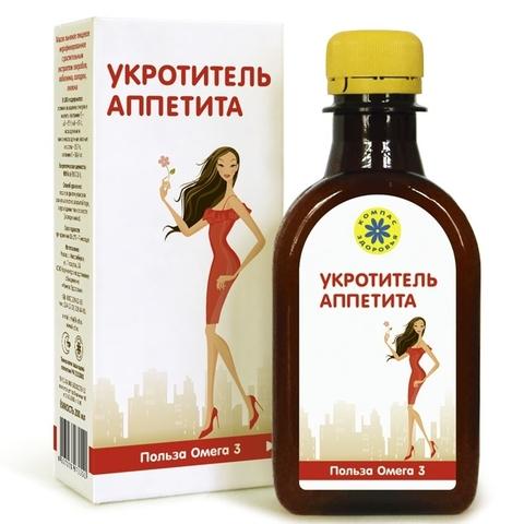 Масло льняное Укротитель аппетита 200 мл (Компас здоровья)