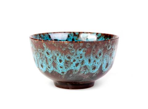 Пиала из многослойной обливной керамики