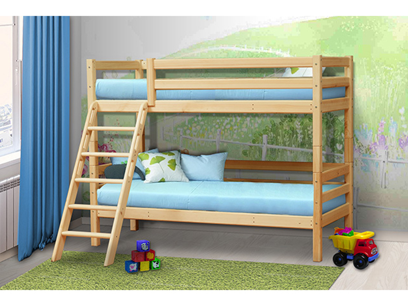 Двухъярусная кровать Мезонин 71