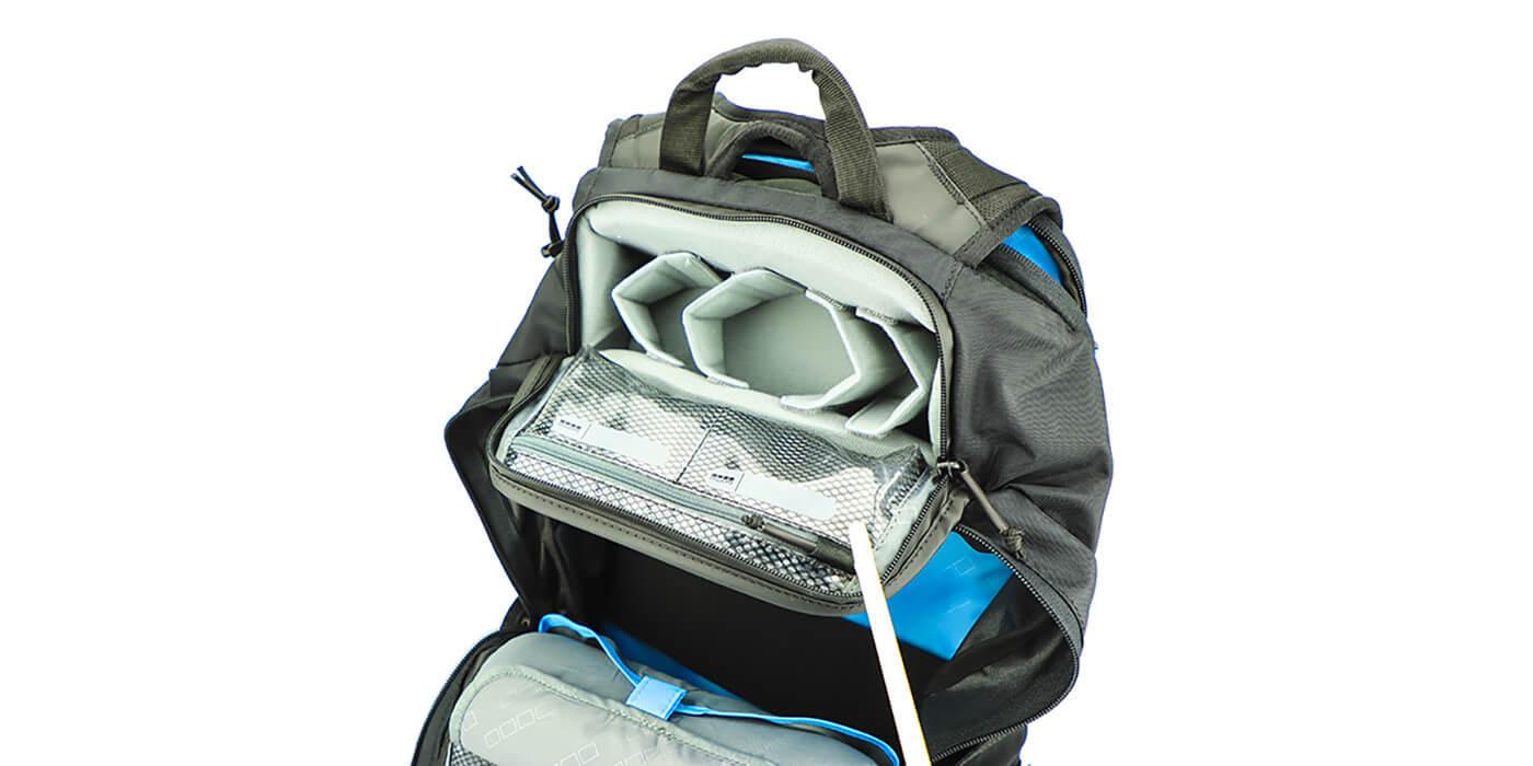 Рюкзак GoPro Seeker (AWOPB-002) верхние отсеки