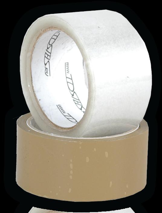 Скотч упаковочный (прозрачный) 50мм х 66м (упак 36 шт)