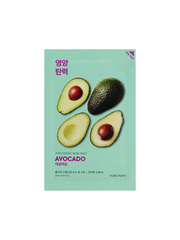 Смягчающая тканевая маска, Авокадо, HOLIKA HOLIKA, Pure Essence Mask Sheet Avocado, 18г