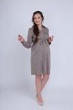 Платье для беременных 05529 индиго