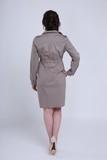 Платье для беременных 05529 коричневый