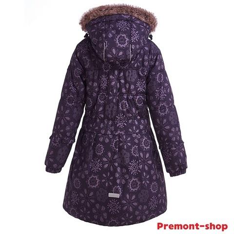 Пальто Premont для девочки Черничный грант WP91353 PURPLE