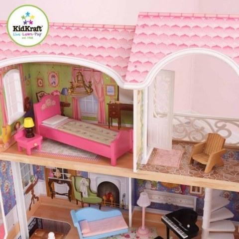 Винтажный кукольный дом для Барби KidKraft Магнолия свет и звук 65907_KE