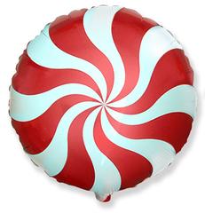 F Мини-круг, Леденец, Красный, 9''/23 см, 5 шт.