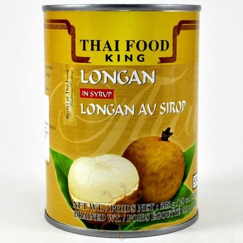 Лонган в сиропе Thai Food King, 565г