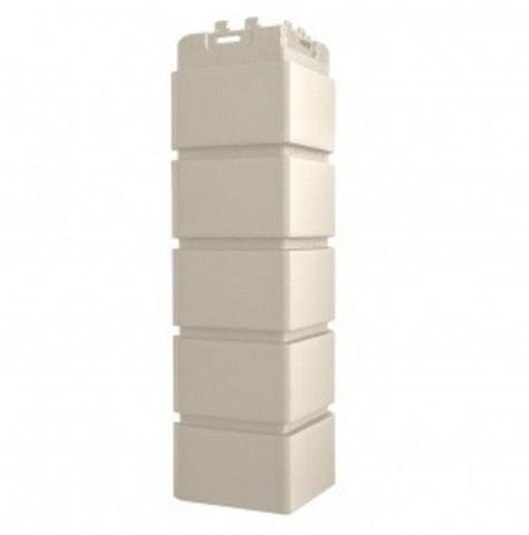 Угол наружный Гранд Лайн Клинкерный кирпич молочный 410х120 мм