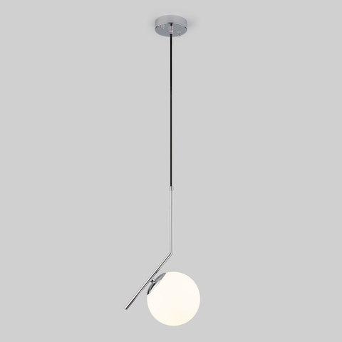 Подвесной светильник со стеклянным плафоном 50152/1 хром
