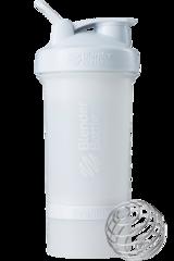 BlenderBottle ProStak, 650мл Шейкер с 2мя контейнерами, таблетницей и пружиной белый