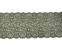 Кружево эластичное хаки 19 см