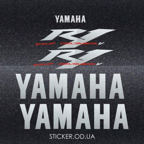 Набор виниловых наклеек на мотоцикл YAMAHA YZF-R1 2004