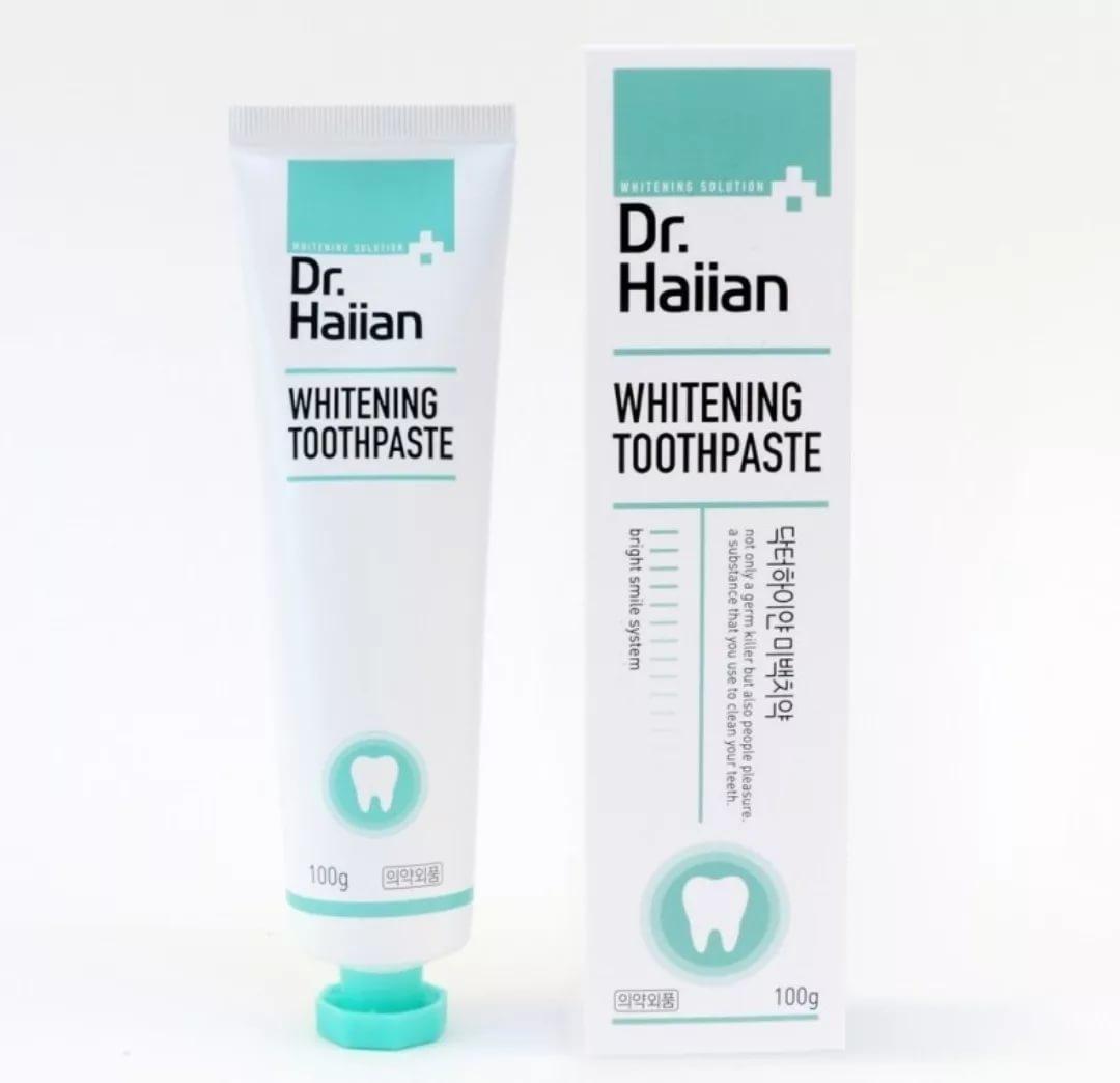 Зубная паста с усиленным отбеливающим эффектом DR.HAIIAN Whitening Toothpaste, 100g