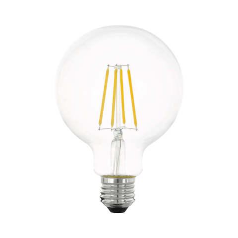 Лампа  LED филаментная 3 шага диммирования Eglo STEP DIMMING LM-LED-E27 6W 806Lm 2700K G95 11752