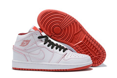 Air Jordan 1 Retro Mid 'White/Red'